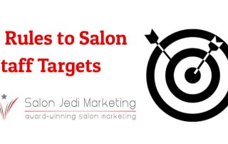 6 Rules to Salon Staff Targets