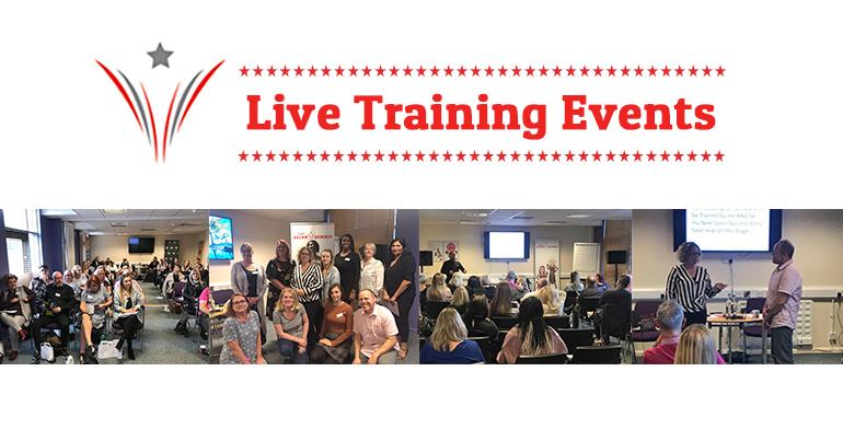 live training events